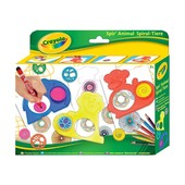 Набор для творчества Crayola с трафаретами и карандашами Животный мир