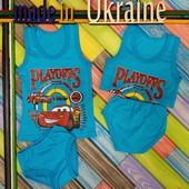 4 цвета Комплект детского белья трусики+майка для мальчика на лето летний костюм хлопок