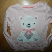 Young Dimension стильный свитер на девочку 2-3 года