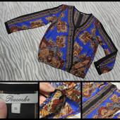 Peacocks.большой размер.шикарная легкая блуза.