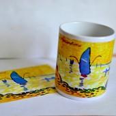 Подарочный набор чашка и открытка