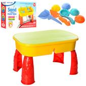 Столик-Песочница для игр с песком и водой 2 в 1 609
