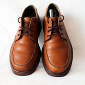 Обалденные кожаные туфли Rieker. Размер 42