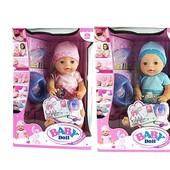 Пупс функциональные Baby Doll 1710