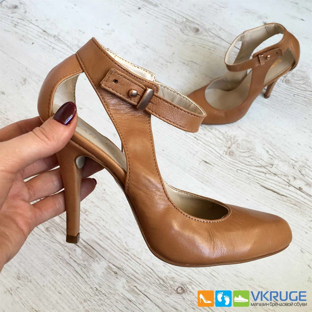 Туфли женские из натуральной кожи San Marina 36 размер (арт. 2606) фото №1