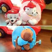 Детский рюкзачок + игрушка Собачий Патруль
