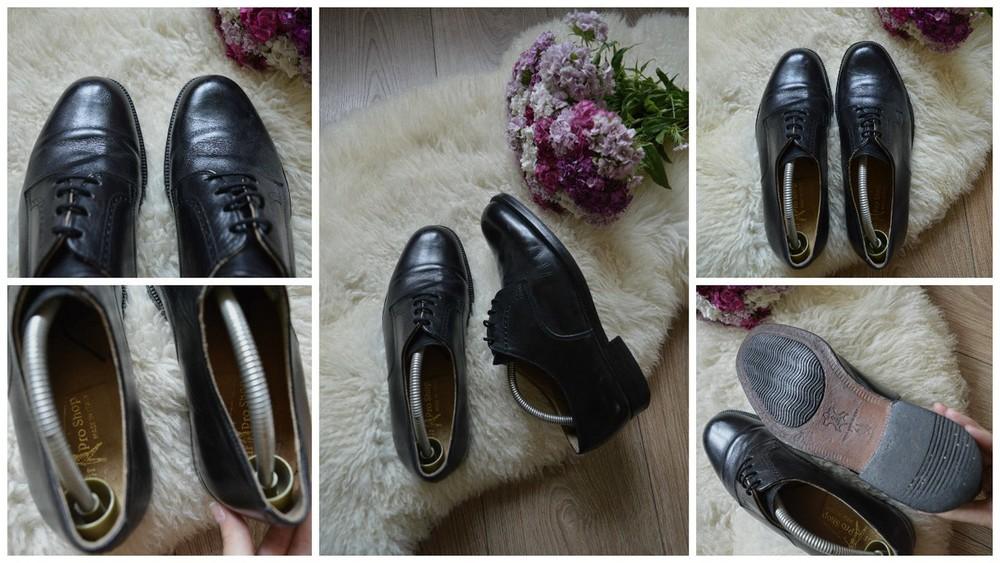 Классические кожаные туфли-дерби,р-р 41 фото №1