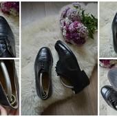 Классические кожаные туфли-дерби,р-р 41