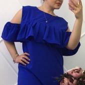 Размеры 50-54 Элегантное летнее женское платье