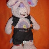 Мягкая игрушка Мышь в костюме 45  см