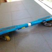 Рипстик, скейт на двух колесах