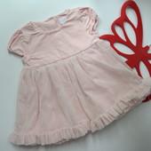 Платье нежное London (0-3 мес)