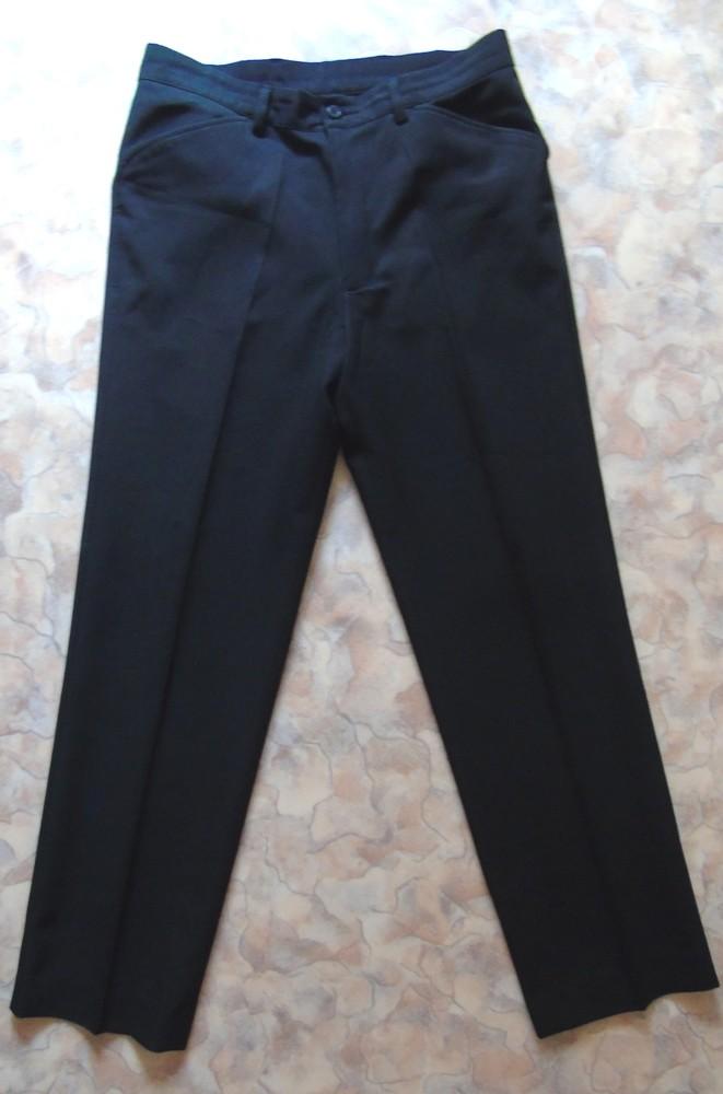 Черные классические брюки 46-48 рам. фото №1