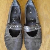 Туфлі шкіряні розмір 41,5 стелька 27,3 см Ara