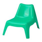Детское садовое кресло, зеленый ikea икеа 503.380.37