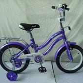 Детский двухколесный велосипед Profi 14д. L1493