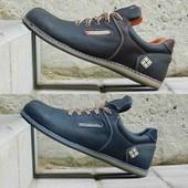 Туфли из натур. кожи, р. 41-46, два цвета, код gavk-10230