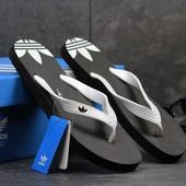 Вьетнамки мужские Adidas black white