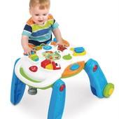 Музыкальный игровой столик Weina 2-в-1 (2137)