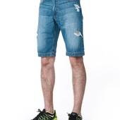 Джинсовые шорты Denim Ripped
