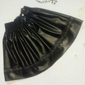 Школьная юбка, Кожа гипюр . От производителя.