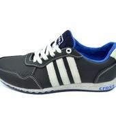 Кроссовки подростковые Cross Fit 30 темно-синие