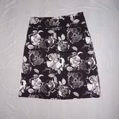 S-M, поб 46-48, юбка летняя миди H&M классика всегда в моде!