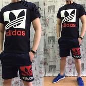 Лений мужской костюм Adidas