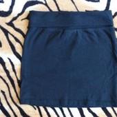 Черная юбка для маленькой первоклассницы