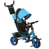 Детский трехколесный велосипед M 3113-5, EVA колёса, голубой
