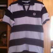Футболка рубашка поло отличного качества р-р 48-50 в идеальном состоянии бренд Sergio Tacchini