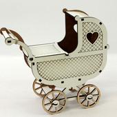 Кукольная коляска для кукол Барби kol
