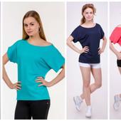 Женская футболка-хулиганка однотон, в расцветках