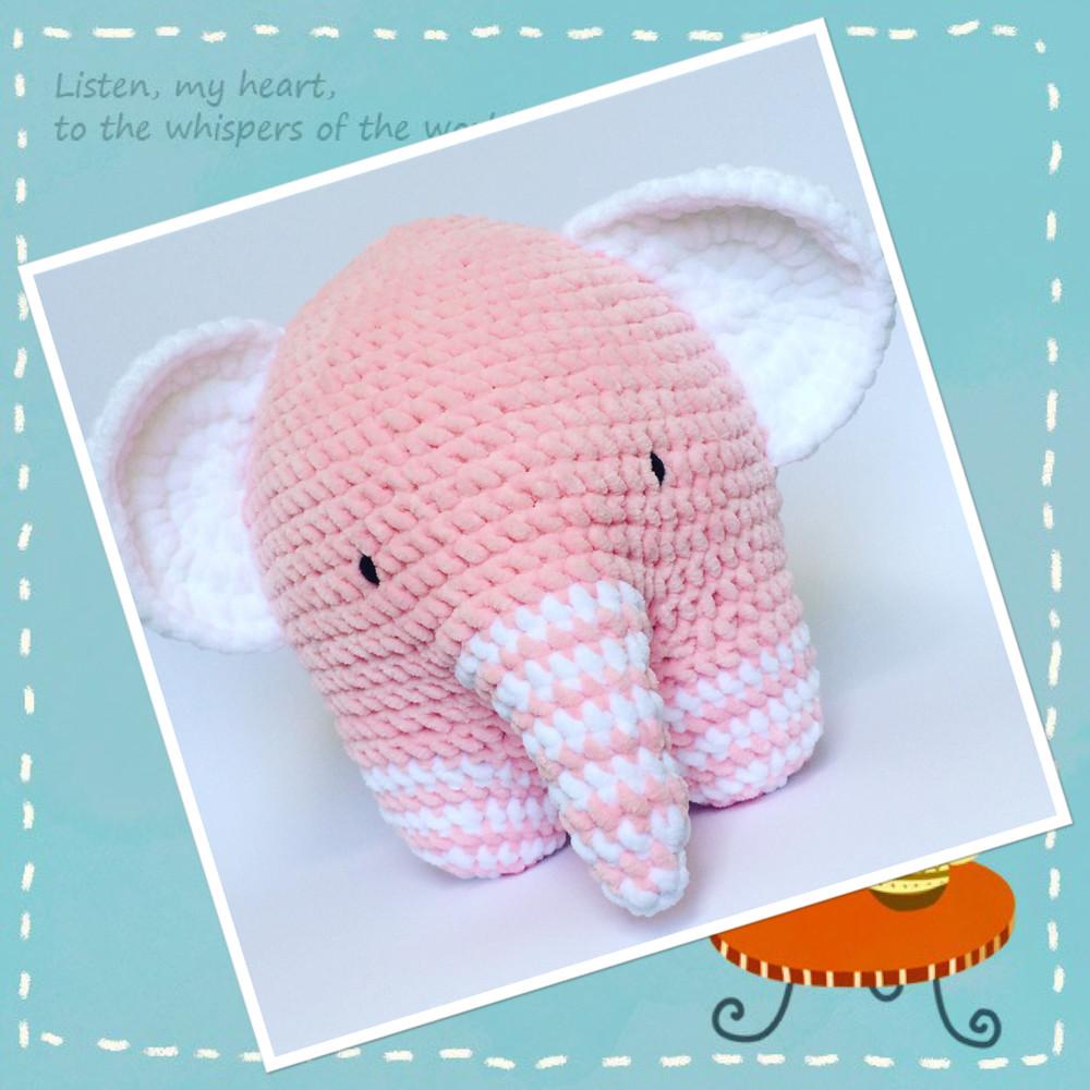 Слонёнок кругляшок фото №1