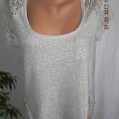 Блуза с кружевом hollister