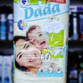 Подгузники Дада (Dada) Extra Soft 4 maxi (7-18 кг) 54 шт
