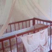 Бортики, защита на кроватку