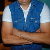 Стильная брендовая джинсовая жилетка New Jeans. Каліфорнія л .Унисекс .