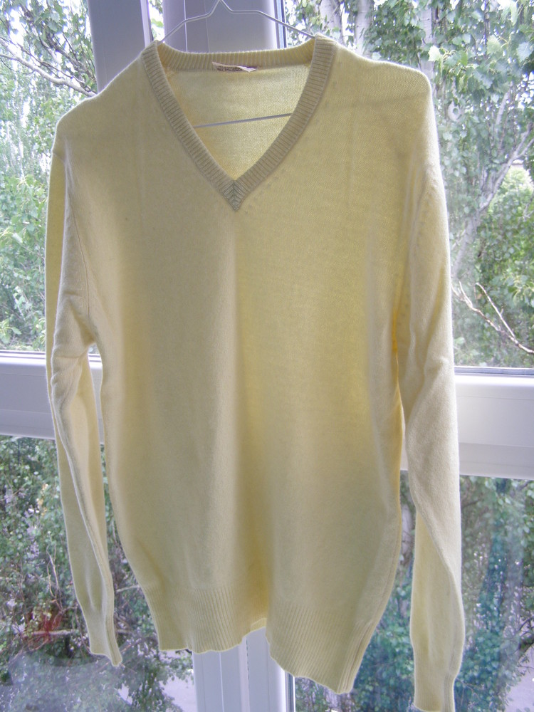 Свитер 100% pure cashmere 52-размер фото №1