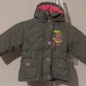 стильная демисезонная курточка, в идеале, на 1-1,5 годика