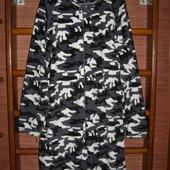 Пижама флисовая, размер XL, рост до 190 см