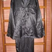 Пижама атласная, размер М
