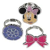 Disney Набор из 3-х детских колец Минни Маус store Minnie Mouse set of 3 girls kids adjustable ring
