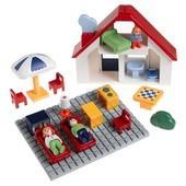 Playmobil 6802 - дом с жителями. Серия 1. 2. 3. Состояние нового