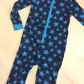 Пижама, слип котоновый в звездах