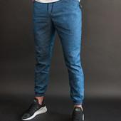 Мужские штаны джогерры sky jeans 3 цвета