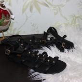 40 25,5см Asos Кожаные босоножки римские сандалии