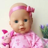 Кукла пупсик веселое купание Zaf Creation Германия 42 см
