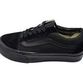 Мужские кеды Vans Old Skool Full черные