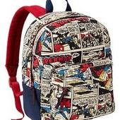 Gap новый рюкзак Комиксы для мальчика (текстиль)